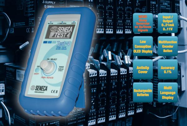Thông số kỹ thuật bộ phát dòng 4-20mA Test-4 Seneca