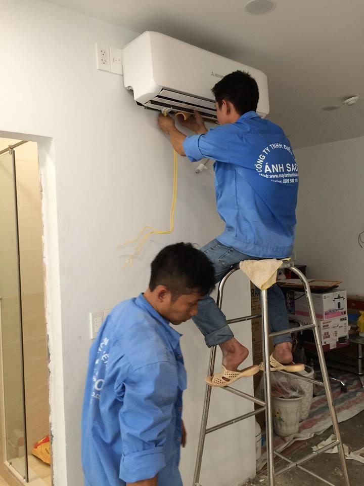 Báo giá thi công máy lạnh giấu trần Daikin trọn gói cho căn hộ