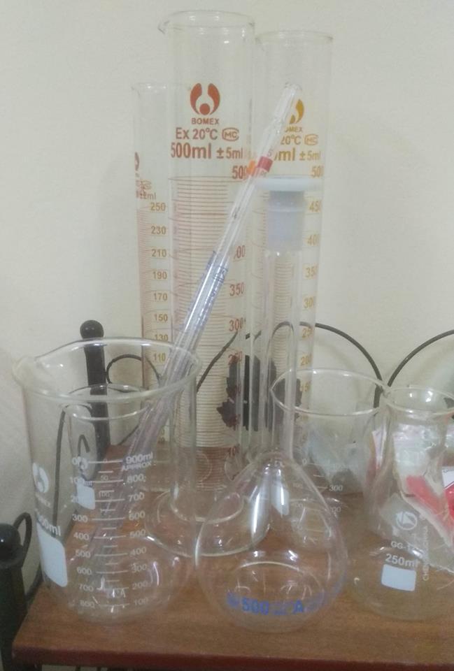 Dụng cụ thí nghiệm