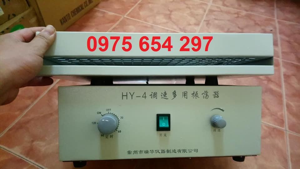 Máy lắc ngang HY-4, 20mm, max 300 rpm