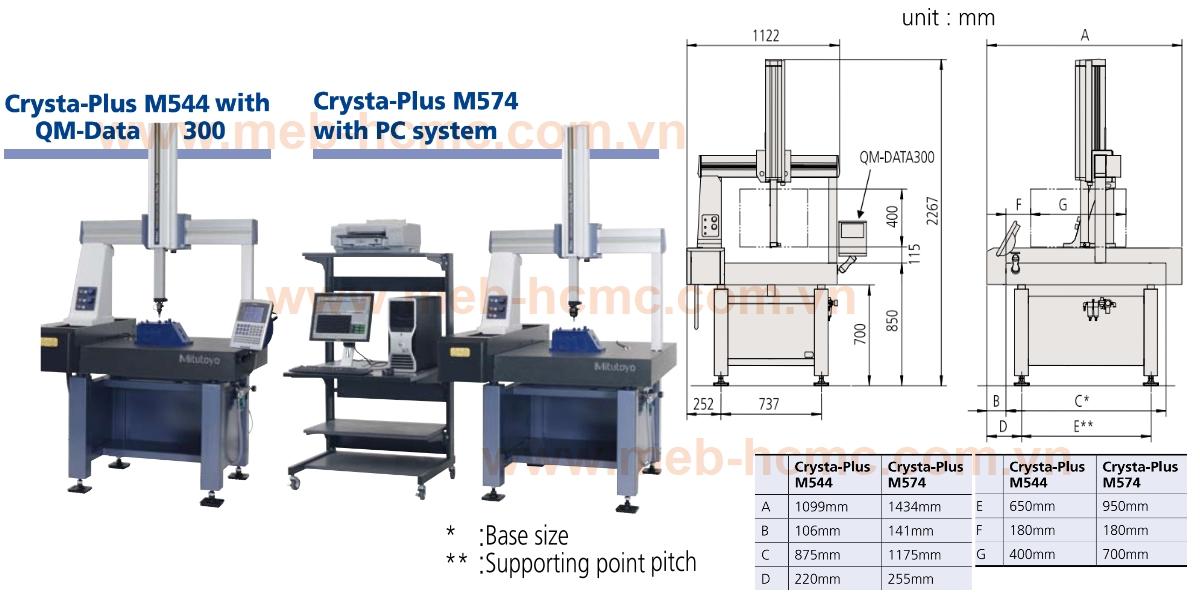 Máy đo tọa độ không gian 3 chiều dạng tiếp xúc (CMM)
