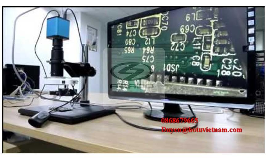 Kính hiển vi kết nối màn hình LCD