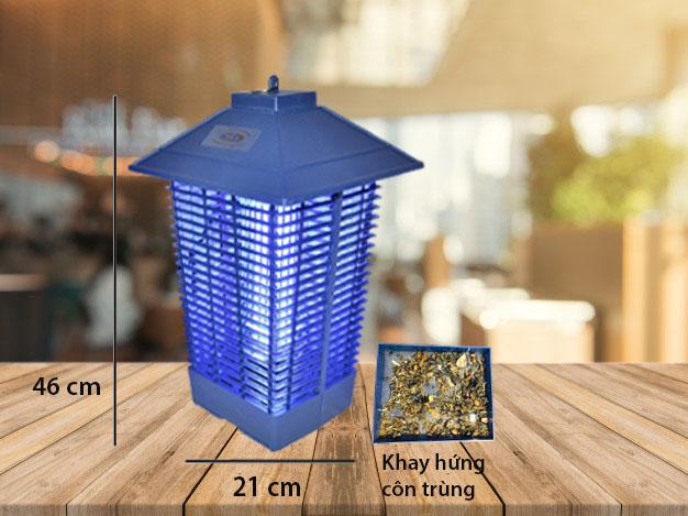 Đèn diệt côn trùng trong nhà và sân vườn