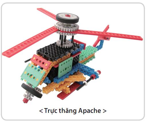 Bộ công cụ sáng tạo ROBOT - HUNA SCIENCE CLASS 1