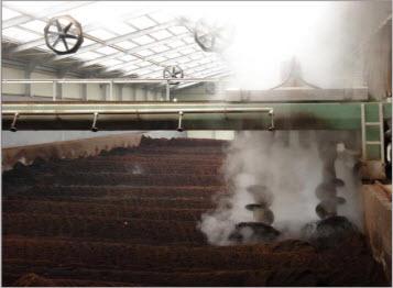Hệ thống ủ phân lỏng sử dụng phương pháp ủ hiếu khí