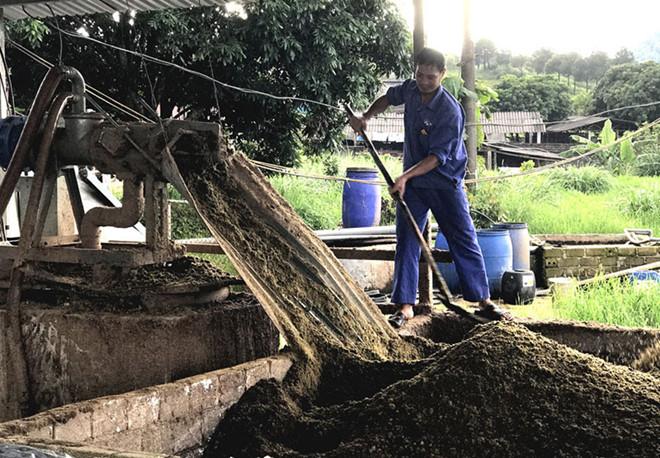 Công nghệ sản xuất phân bón hữu cơ từ chất thải chăn nuôi của Hàn Quốc