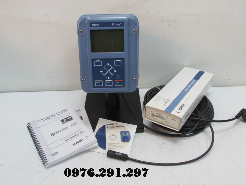Máy đo oxy trong nước có gas 3400C