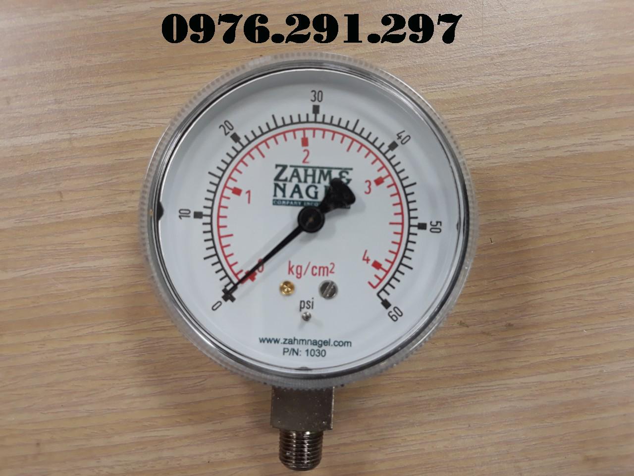 Đồng hồ áp suất 1030 Zahm Nagel