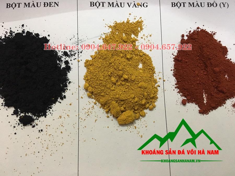 Bột màu oxit sắt phụ gia sản xuất gạch terrazzo
