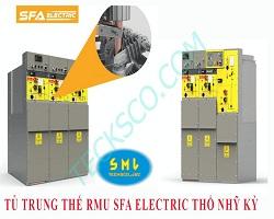 Tủ trung thế cách điện khí SF6 RMU compac 40.5kV