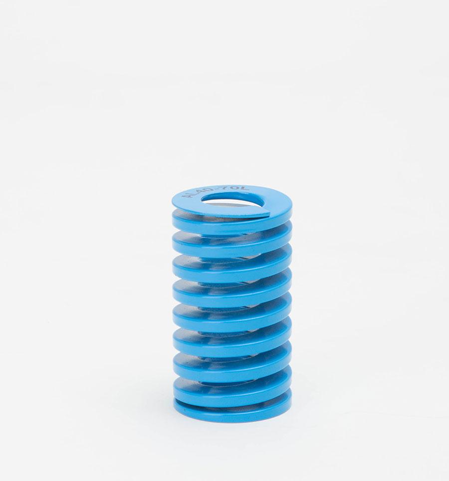 Lò xo khuôn xanh dương - tải trọng nhẹ - Triple S Die Springs