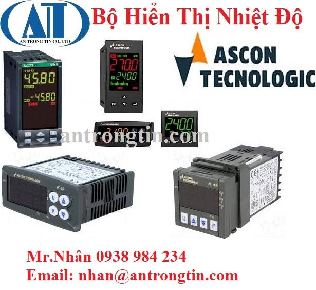 Bộ hiển thị nhiệt độ Ascon