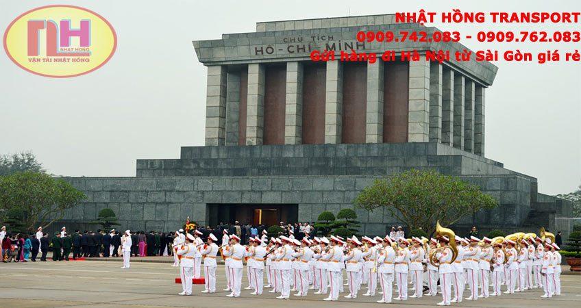 Dịch vụ gửi hàng đi Hà Nội từ Sài Gòn bằng xe tải thùng