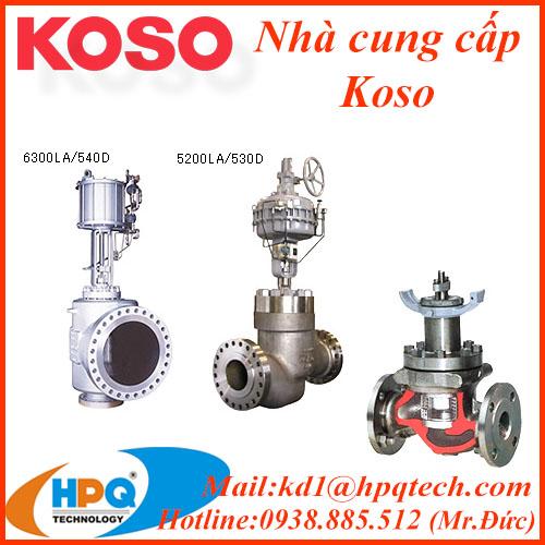 Van điều khiển Koso | Bộ truyền động Koso