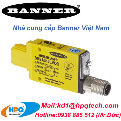 Cảm biến Banner | Nhà cung cấp Banner | Banner Việt Nam