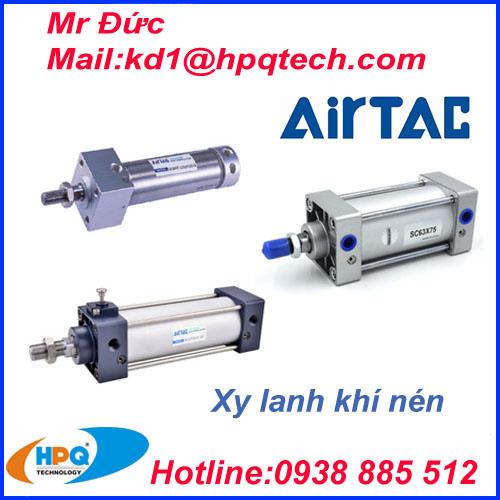 Xi lanh Airtac | Van khí nén Airtac