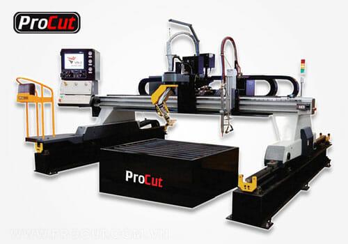 Máy cắt Plasma CNC dạng cổng đa năng