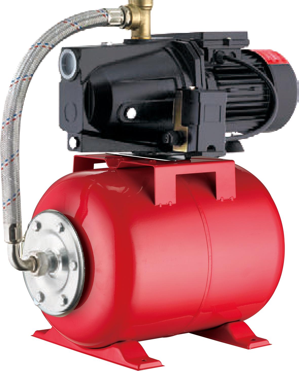 Máy bơm tăng áp tự động Pumpman bình 24 lít 0.5HP