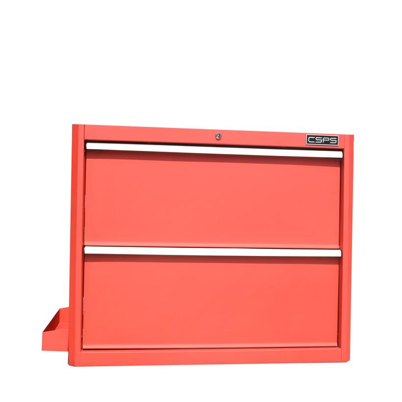 Tủ dụng cụ CSPS 91 cm đen/đỏ - 02 hộc kéo