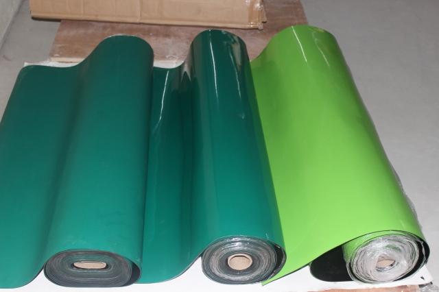 Thảm cao su chống tính điện (ESD) 1.2m xanh đậm mờ