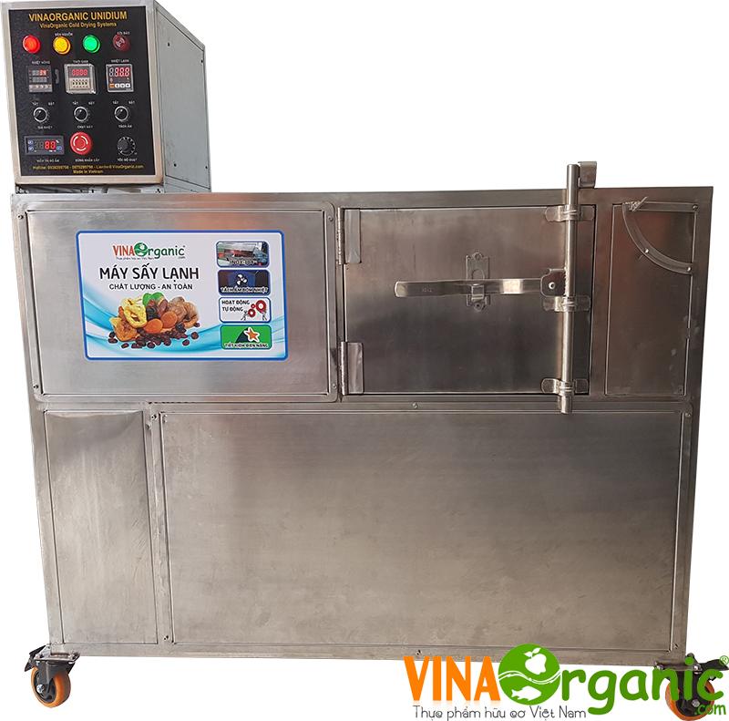 Máy sấy lạnh bơm nhiệt 6 khay VinaOrganic