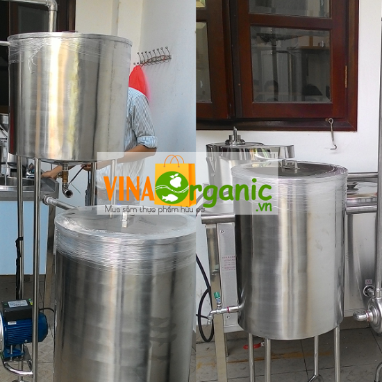 Dây chuyền sản xuất sữa thực vật thanh trùng đa năng