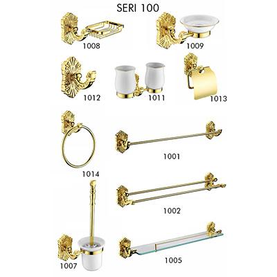 Bộ phụ kiện mạ vàng 24k Cleanmax Seri 100