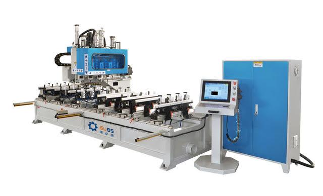 Máy mộng âm CNC 10 đầu model SX4*2-2400/ SX4*3-2400