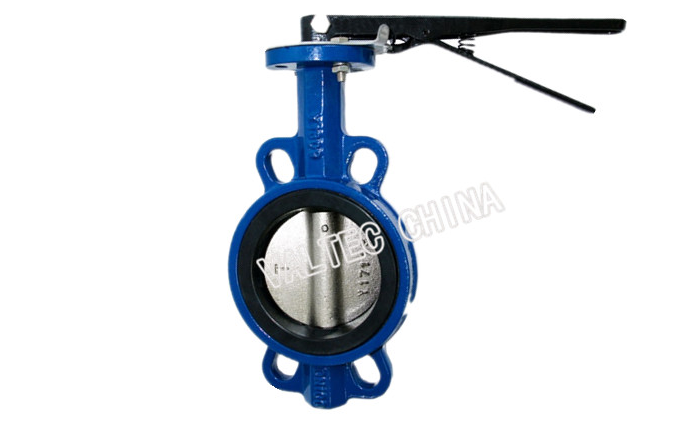 DN20-200 Customized Universal Type Wafer Butterfly Valve