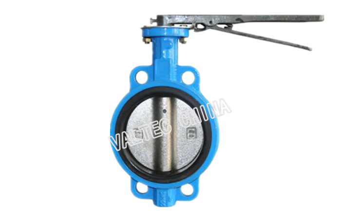 Single Shaft with Pin EPDM Seat Butterfly Valve