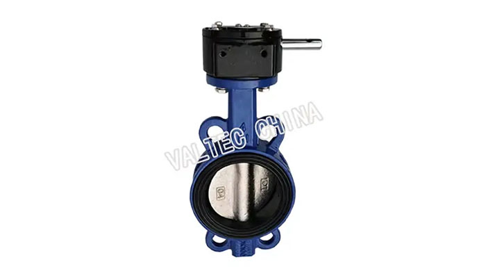 DI Body Gear Operation Wafer Butterfly Valve