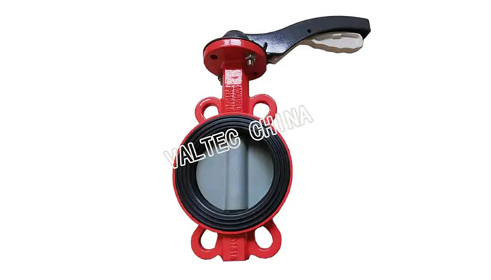 Nylon Disc Wafer Type Butterfly Valve