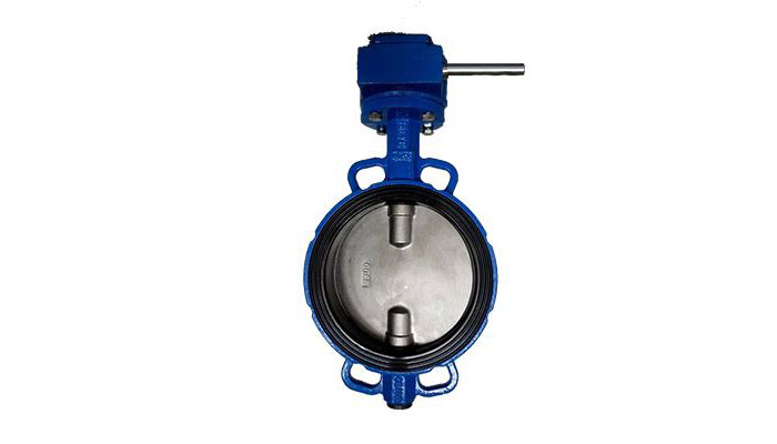 Rubber Lined Butterfly Valve with Handle