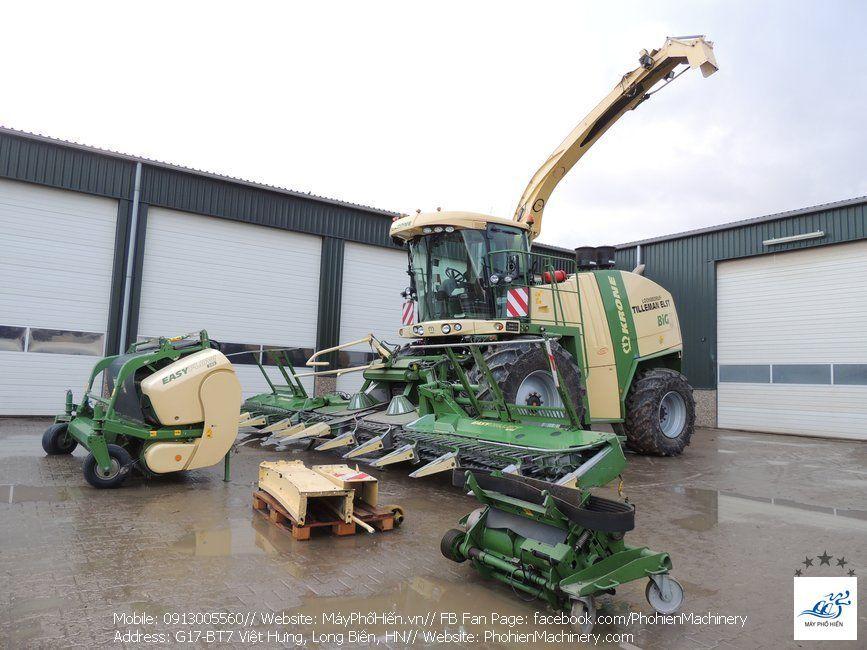 Máy thu hoạch ngô sinh khối