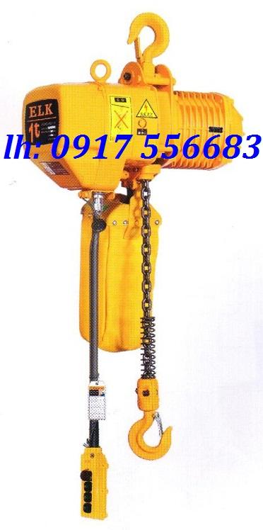 Pa lăng xích điện ELK kaodai 500kg loại cố định: HKD00501S
