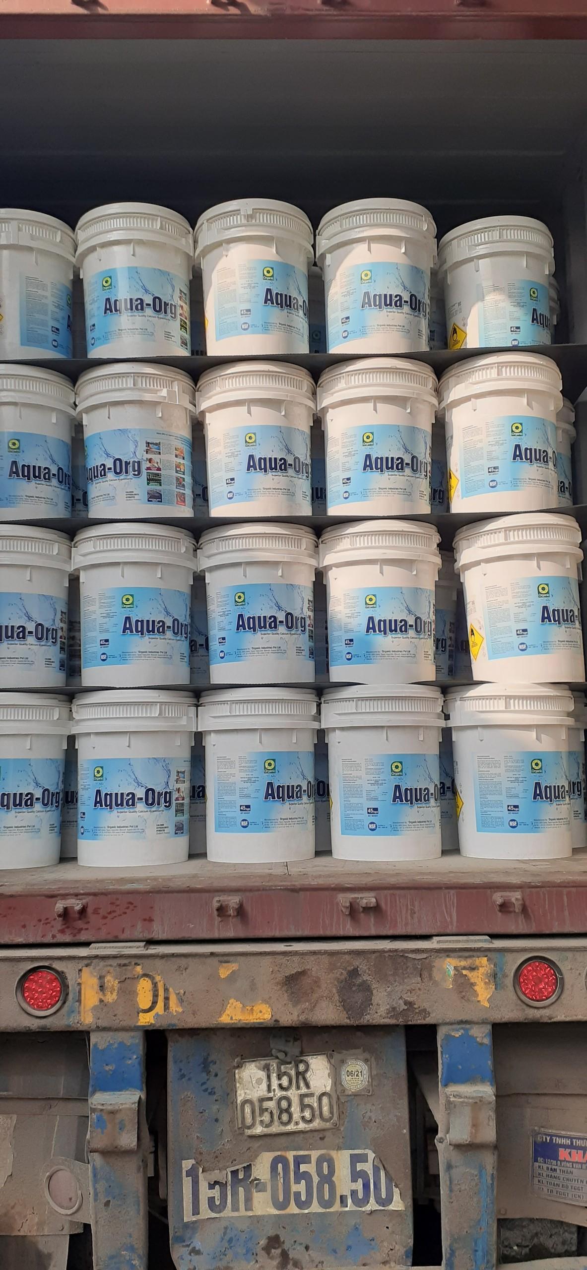 Hóa chất khử trùng Chlorine Aqua ORG- Ấn Độ