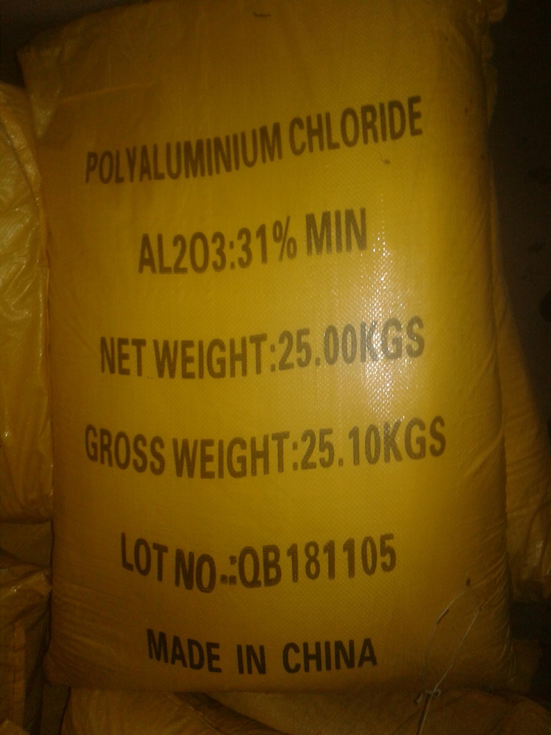 Hóa chất PAC – Poly Aluminium Chloride