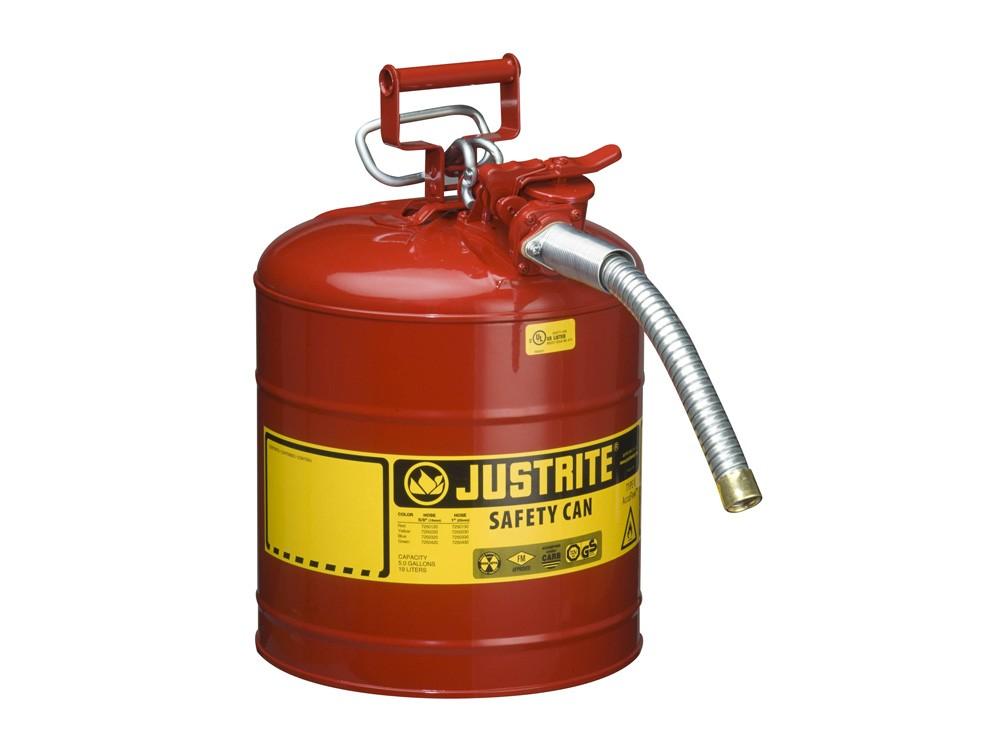 Can thép an toàn chứa hóa chất chống cháy nổ Justrite