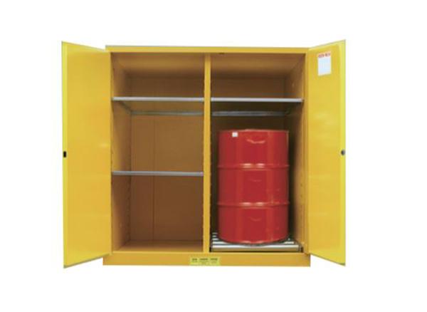 Tủ đựng hóa chất 2 thùng phi chống cháy 110Gal/ 460l