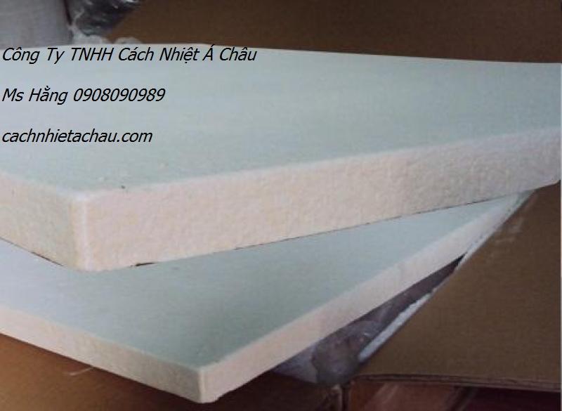 Bông ceramic dạng tấm chịu nhiệt 1260 độ C