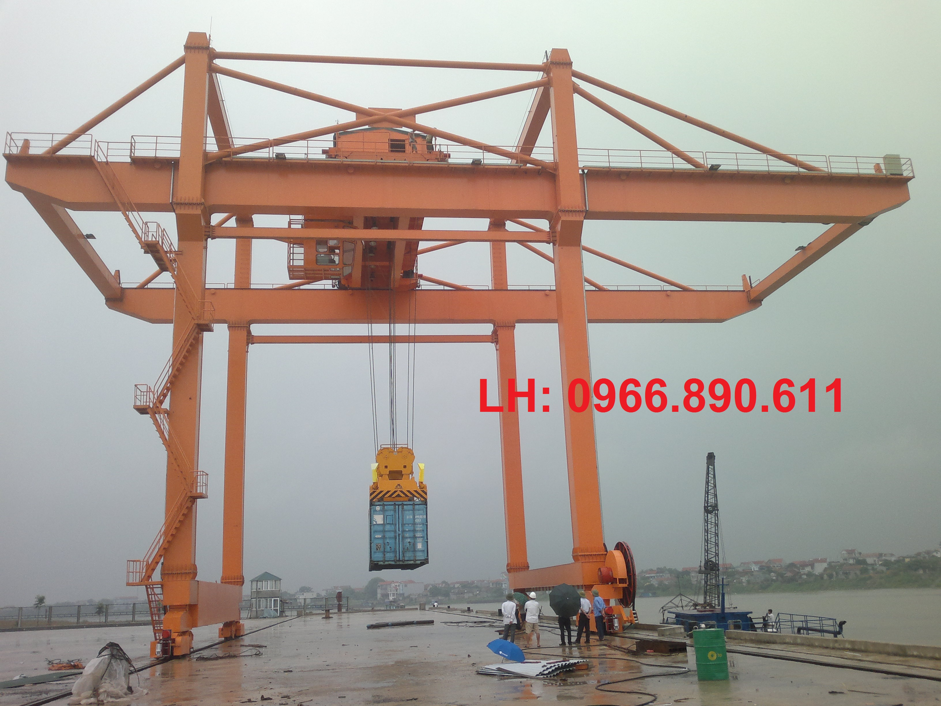 Cổng trục Container 50 tấn