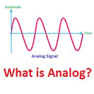 Tín hiệu analog là gì?