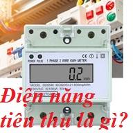 Điện năng tiêu thụ là gì?