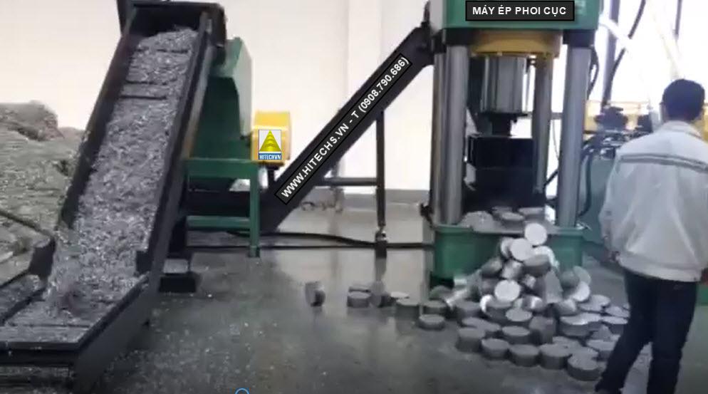 Máy ép phoi bột kim loại kiểu đứng
