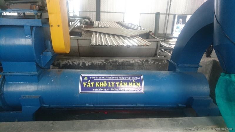 Dây chuyền xử lý nilon tái chế HITECH-NL1000