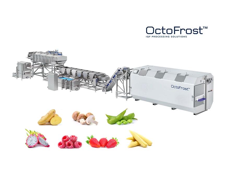Dây chuyền chế biến và cấp đông nhanh OctoFrost™