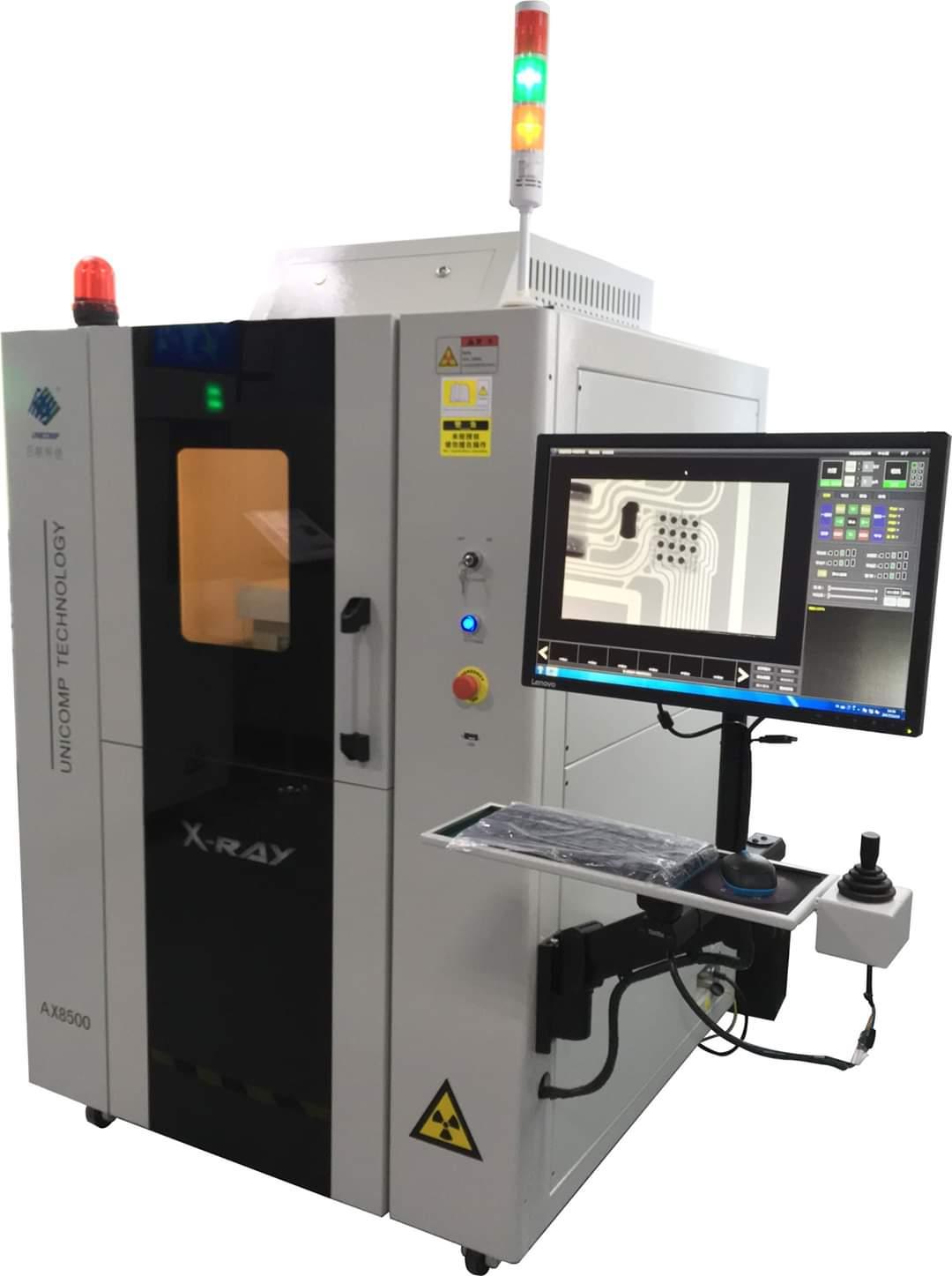 Máy x ray công nghiệp Unicomp- kiểm tra PCB, pin lithium in line