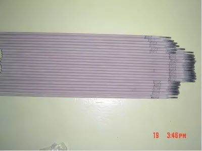 Welding electrodes for stainless steel E317L-16