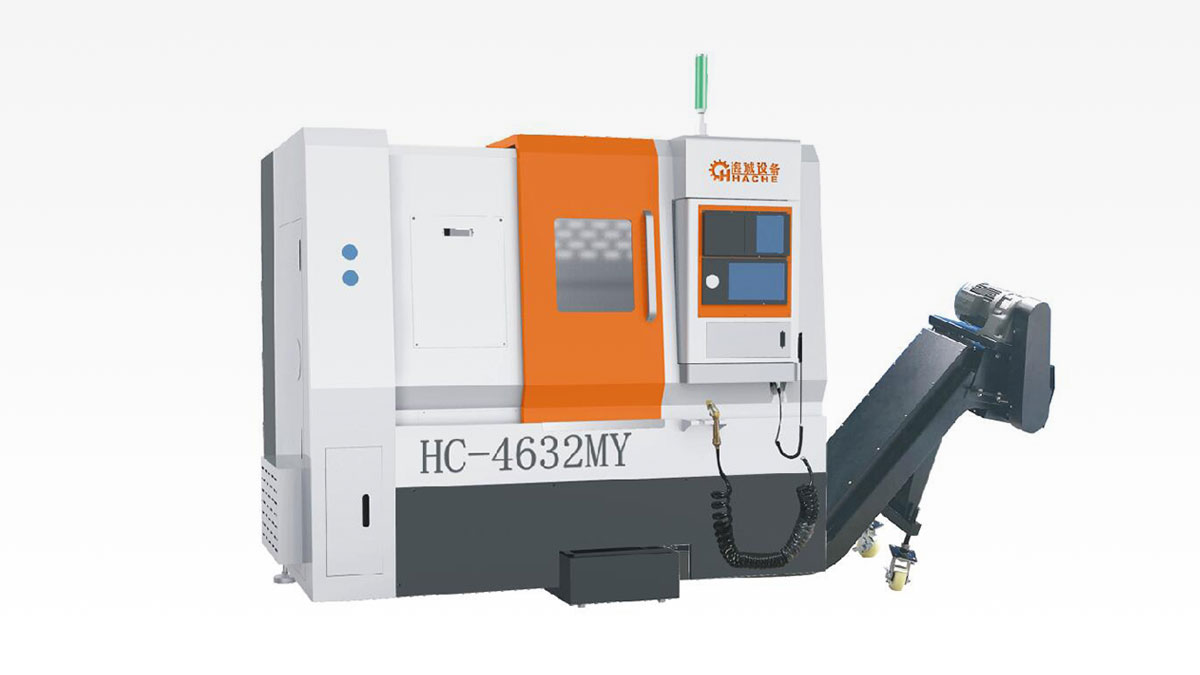 Máy tiện phay HC-4632MY