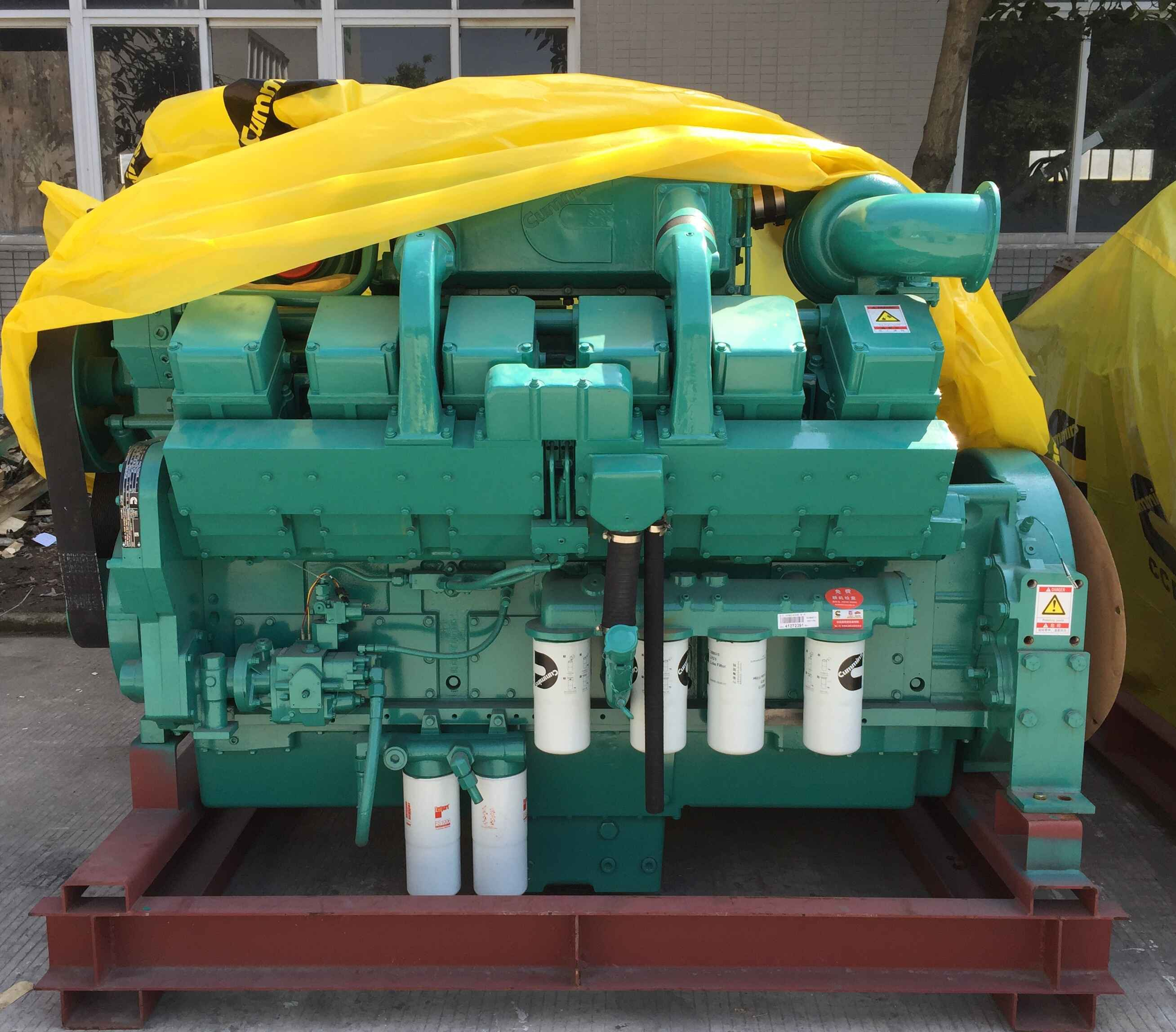 Máy phát điện Cummins 800kVA với mô hình động cơ KTA38-G2B 400V